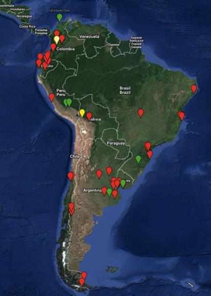 Sudamerica. EL Vuelo de Apis
