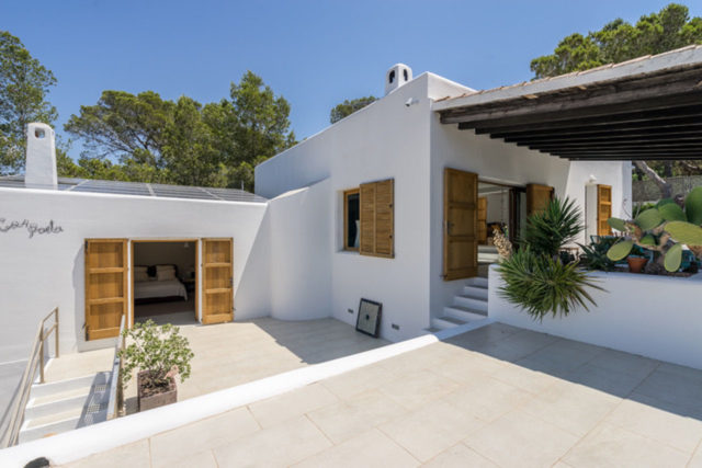 Ibiza, casas increíbles En España para realizar un intercambio