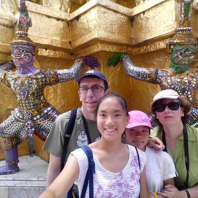 Bangkok, intercambio de casa