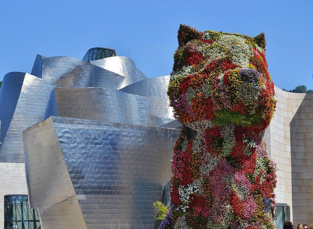 Alt bilbao-puppy-Guggenheim, tittle bilbao-puppy-Guggenheim
