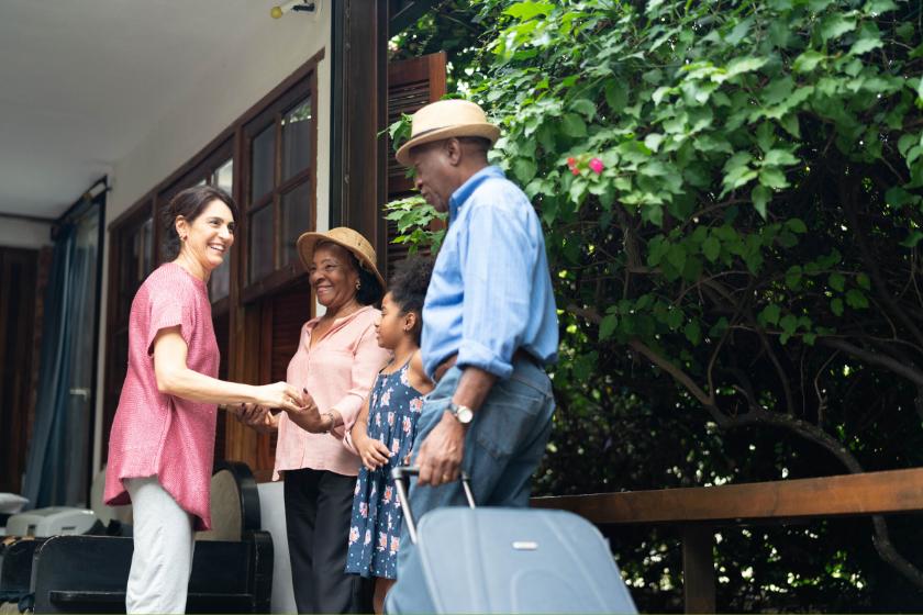 intercambio de casas encuentros amigos familia