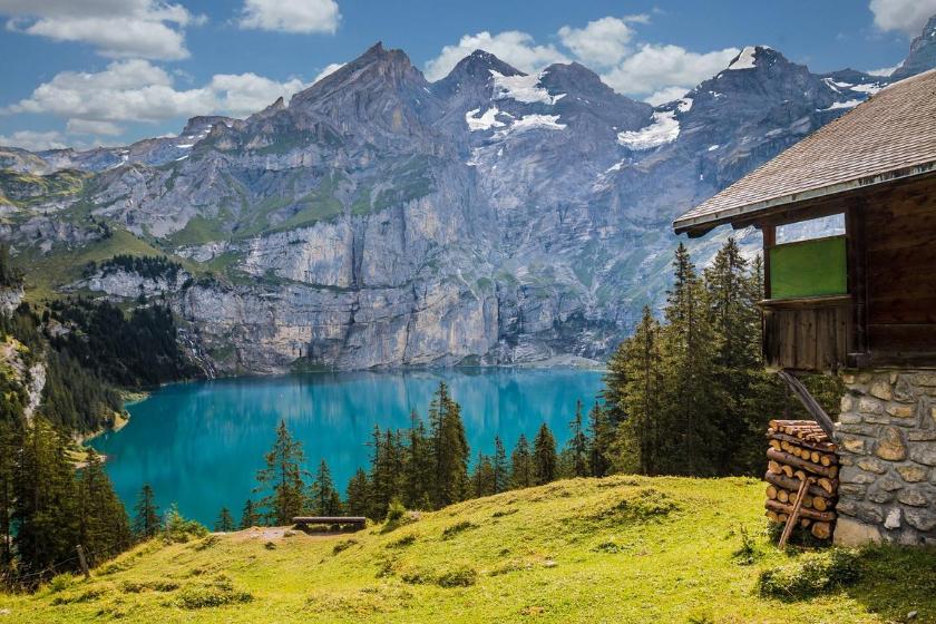 Intercambio de casas kandersteg suiza cantón de berna montaña vacaciones verano