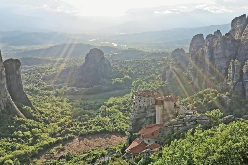 intercambio de casas grecia vacaciones meteora montaña